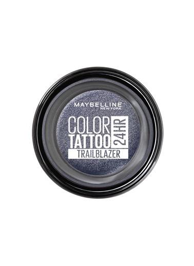 Maybelline  Maybelline New York Color Tattoo 24Hr Krem Göz Farı - 220 Trailblazer-Gece Mavisi Mavi